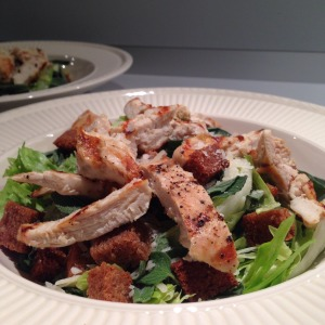 Herb Parmesan Chicken Salad