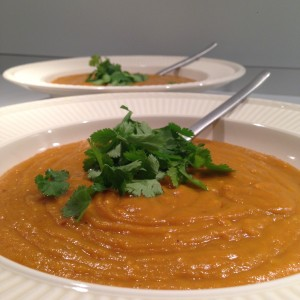 Pumpkin chili soup